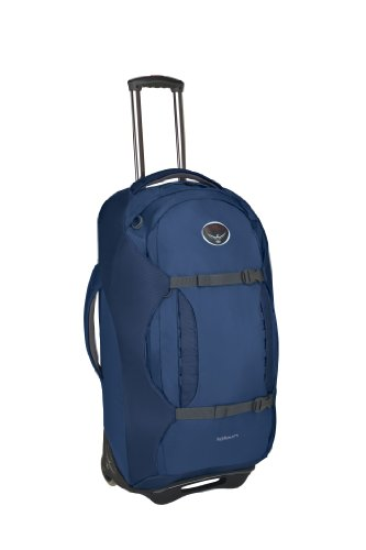 Osprey Sojourn Wheeled Luggage (28-Inch/80 Liter, Steel Blue) back-406569