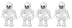 Skeleton (Swivel Arms) 4-Pack - LEGO Prince of Persia Minifigure by LEGO