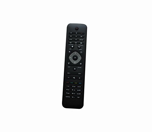 Universal Replacement Remote Control For Philips 32Pfl4907/F7 40Pfl4907/F7 42Pfl6678S/12 47Pfl6678K/12 Plasma Lcd Led Hdtv Tv