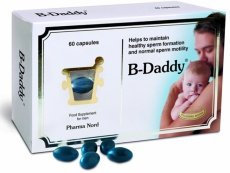 B-Daddy Food Supplement For Men 60 Capsules