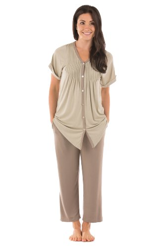 Bamboo Pajamas Clothing Sleepwear For Women Something Special For Me Women'S Gifts For Her Wb0002-Snd-M front-642487