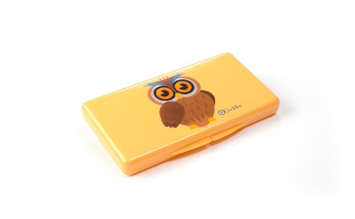 Uber Mom Wipebox, Orange Owl