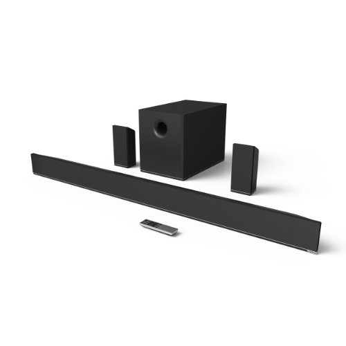 Vizio S5451W-C2 54-Inch 5.1 Home Theater Sound Bar With Wireless Subwoofer And Surrounds (Black)