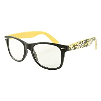 PKL lunettes sans correction unisexe verres neutres transparents sm-sm0088-8062-3.f-nj