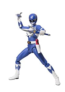 """Bandai Tamashii Nations S.H. Figuarts Mighty Morphin Blue Ranger """"Mighty Morhin Power Rangers"""" Action Figure"""