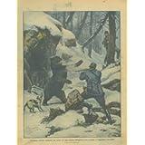 Coraggioso ufficiale ungherese attrae col cane un'orsa all'ingresso di una caverna, l'aggredisce e la uccide.