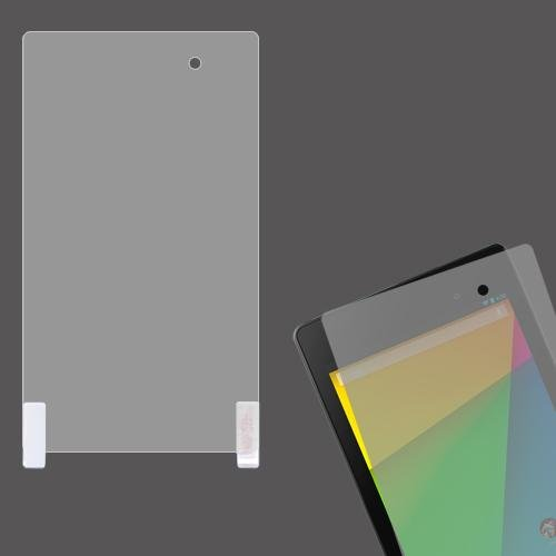 Cell Accessories For Less (Tm) Google Nexus 7 Ii Lcd Screen Protector + Bundle (Stylus & Micro Cleaning Cloth) - By Thetargetbuys