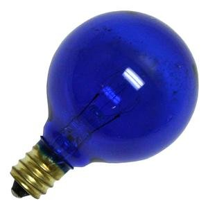 Bulbrite 10G12B 10W G12 Globe 120V Light Bulb, Blue