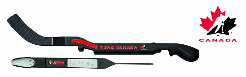 Wii Team Canada Hockey Stick - Black