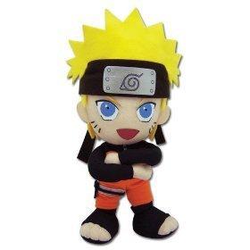 GE Entertainment Naruto Shippuden Plush Toy – 8″ Naruto (GE-8900) image