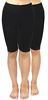 4How 2Pack Women's Tight Active Shorts