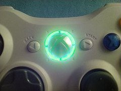 Xbox 360 Controller Led Mod Ring Of Light Leds- Mint Green