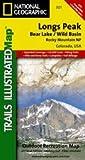 Trails Illustrated Longs Peak Bear Lake/ Wild Basin Rocky Mountain National Park