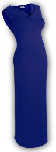 U ARe! Fashions Juniors and Misses Size Maxi Dress Large Blue