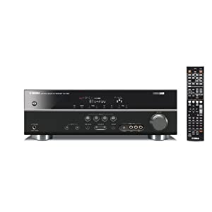 Yamaha RX-V367BL 5.1 Channel 500 Watt AV Receiver (Each, Black)