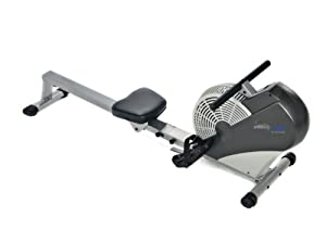 Stamina Air Rower (Black, Chrome)
