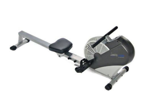 Stamina Air Rower (Black, Chrome)