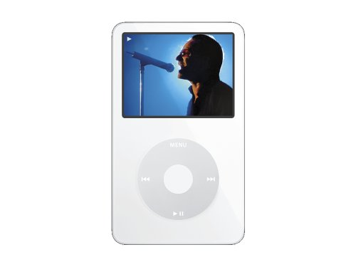 Apple iPod Video 60 GB White MA003LL/A (5th Generation) OLD MODEL