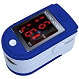 Finger Pulse Oximeter With LED Display (Includes Carrycase and Lanyard)