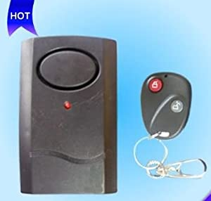 Wireless Home Security Remote Control Vibration Alarm System Fk103 Free Post