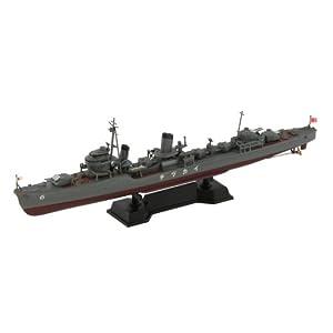 1/700 日本海軍 特型駆逐艦 電/ 新WWII 日本海軍艦船装備セット (7) 付