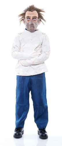 [HANNIBAL LECTER CHILD COSTUME] (Child Straight Jacket Costume)