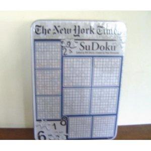 NEW YORK TIMES SUDOKU