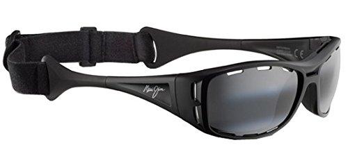 lunettes-de-soleil-maui-jim-waterman-noir-mat-gris-neutre-polar-