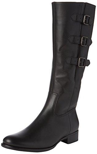 Gabor Shoes Fashion, Stivali da Equitazione Donna, Nero (Schwarz 27), 38 EU
