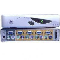 Adder AdderView GEM KVM Switch 4 - > 1 PS / 2
