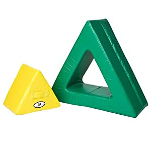 Foamnasium Triangle in Triangle, Yellow/Green