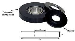 Amana Tool 61660 Insert Shaper Cutter Accessory 1-1/4 x 2-1/2 Bearing