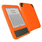 7dayshop Durable Soft Silicone Case Cover for Amazon Kindle 3 - ORANGEby 7dayshop