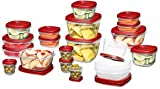 Rubbermaid 1777169 Easy Find Lid Food Storage Set, 40-Piece