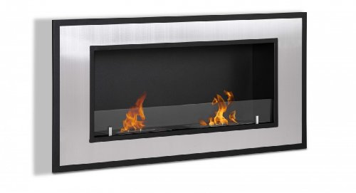 Ventless Ethanol Fireplace - Bellezza, Recessed Ethanol Fireplace By Ignis
