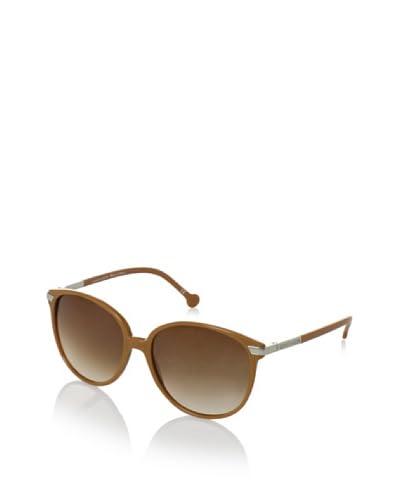 Carven Women's Annette Sunglasses, Horn/Gunmetal