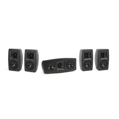 Klipsch Quintet 5.0 Home Theater Speaker System (Black) from Klipsch