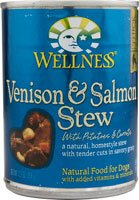 Wellness Now Venison and Salmon Stew with Potatoes and Carro