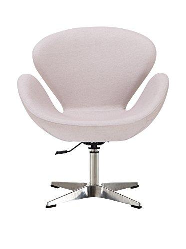 Ceets Raspberry Adjustable Leisure Chair, White