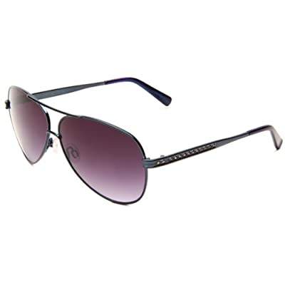 Amazon.com: Judith Leiber Women's JL 1573 A 05 Aviator Sunglasses