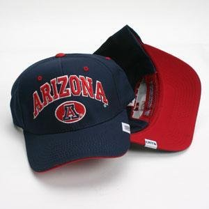 Buy Arizona Wildcats Hat - Navy Adjustable By Zephyr by Top of the World