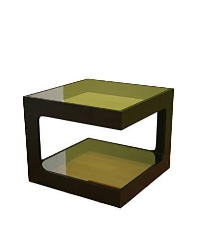Baxton Studio Ida Coffee Table, Black