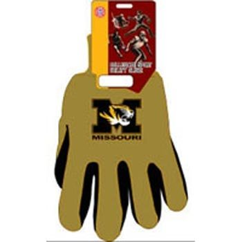 Missouri Two-Tone Gloves (Missouri Football Gloves compare prices)
