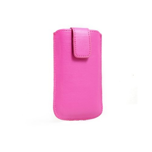 System-S Pink Case Cover Sleeve With Pull Back Function For Nokia 2630 5310 5730 5800 Xpressmusic 6290 C3-00 C6-00 C7-00 E63 E65 E71 E72 E75 N73 N73 Music Edition N81 N81 8Gb 8Mp N97 Mini X6 N81/N81 8Gb N86 N97 Mini X6 C7