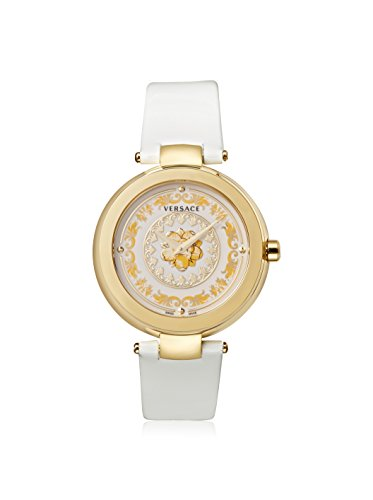 Versace-Womens-VQR010015-Mystique-Foulard-38mm-Analog-Display-Swiss-Quartz-White-Watch