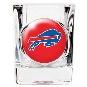 Great American 8900675304 2 oz. Buffalo Bills Square Shot Glass