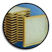 Glasfloss Industries PTA10101 PTA Series Heavy Duty Disposable Panel Air Filter, 12-Case