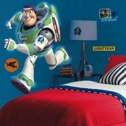 Buzz lightyear giant wall mural room decor for Buzz lightyear wall mural