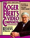 Roger Ebert's Video Companion 1997 (Roger Ebert's Movie Yearbook) (0836221524) by Ebert, Roger