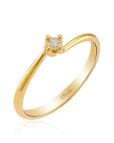 Divas Diamond Anillo Diamante Solitario